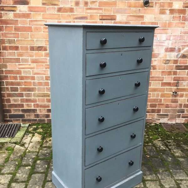 Edwardian Painted mahogany Office Drawers (3)