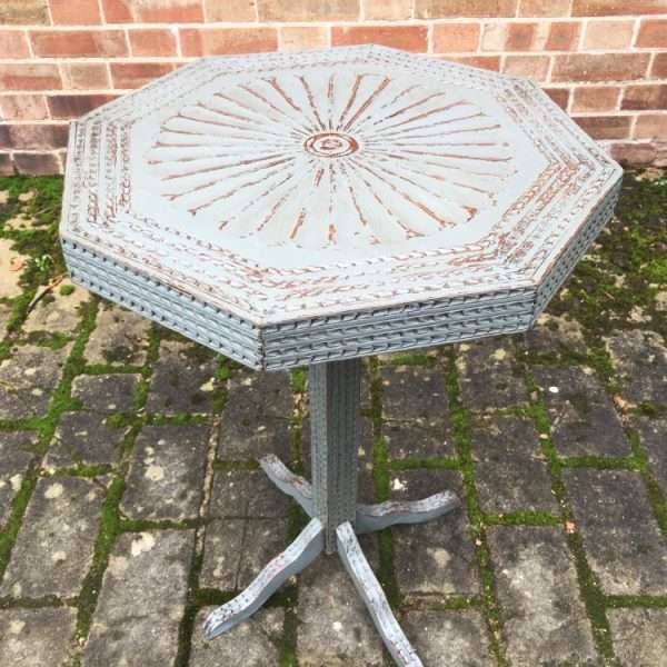 Late 19th Century Painted Carved Oak Table2