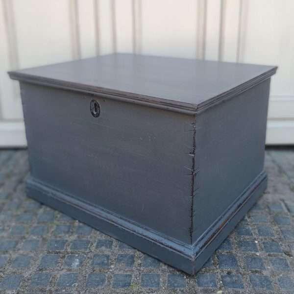 Early Victorian Painted Mahogany Box2
