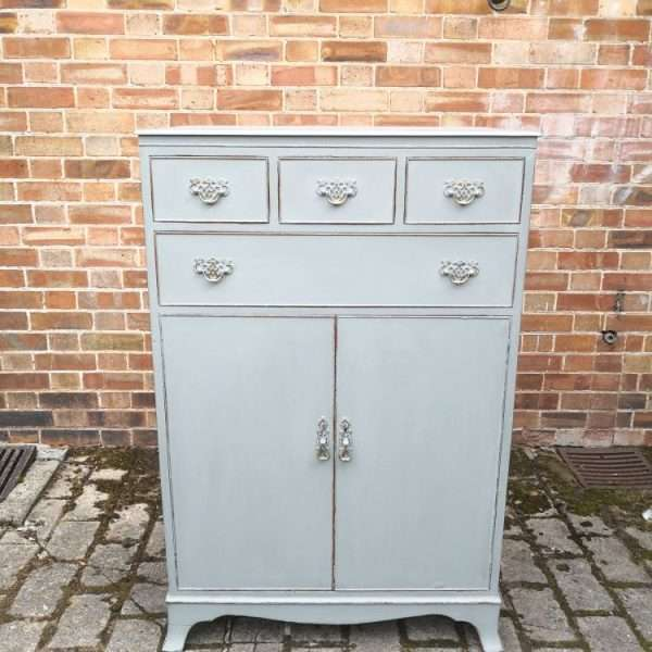 1920's Sheraton Style Chest Cupboard3