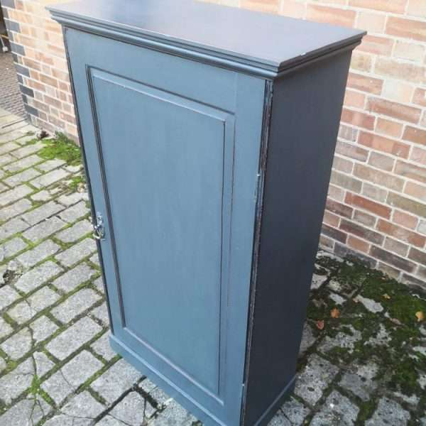 Early 19th Century Painted Mahogany Cupboard2