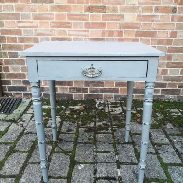 Early Victorian Painted Mahogany Side Table